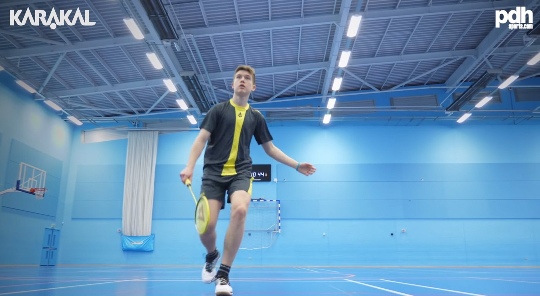 Part One: PDHSPORTS.COM meets U19 English National Champion and Karakal Badminton player Ethan Rose.